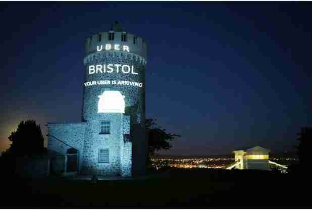 Taxi app Uber launches Bristol service at the Observatory