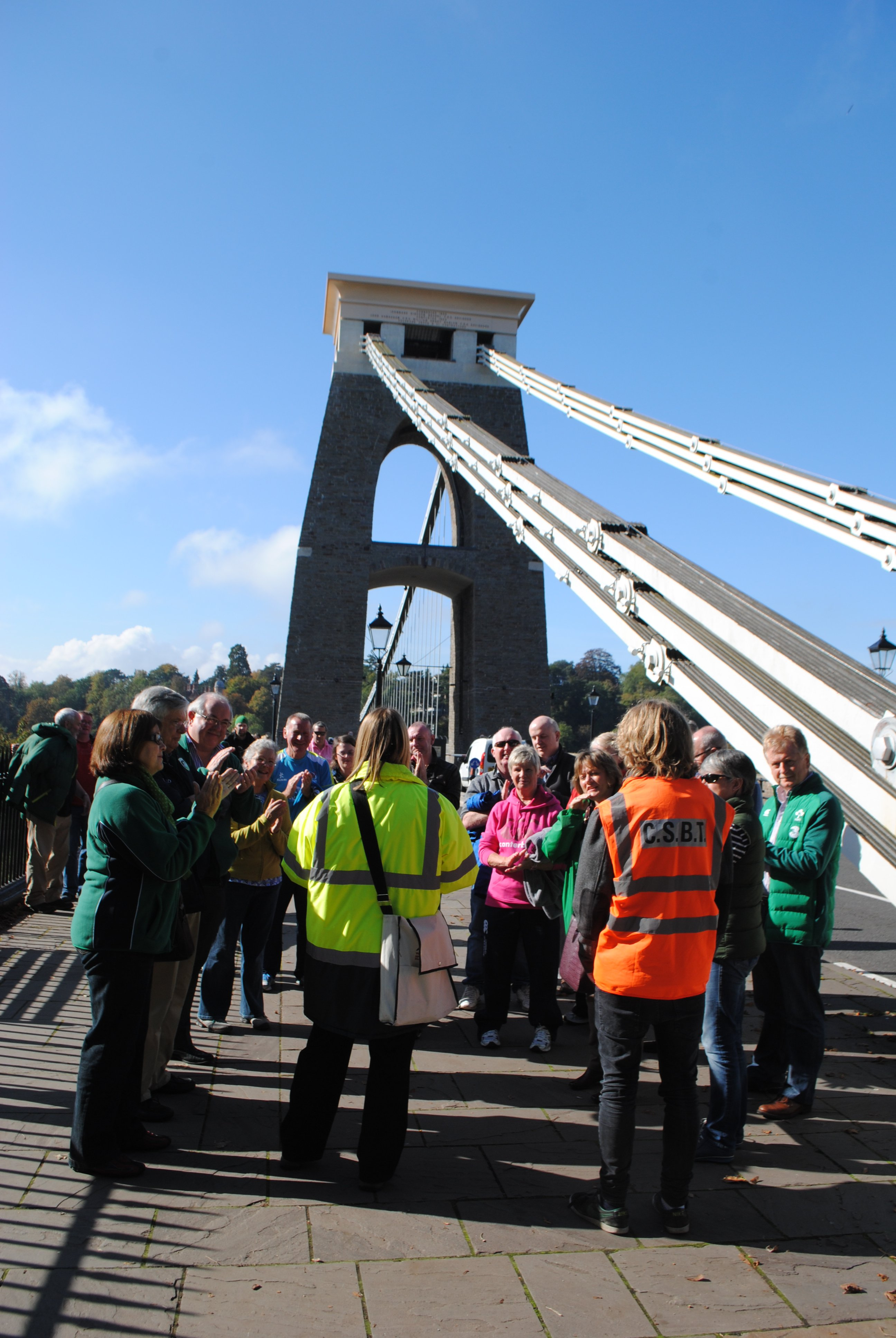 Free tours of the bridge take place at 3pm every Saturday, Sunday and Bank Holiday between Easter and October. Look out for a guide in an orange high-vis jacket waiting at the Clifton Tower. Tours for schools and groups can be booked at any time for a fee of £3.50 per head.