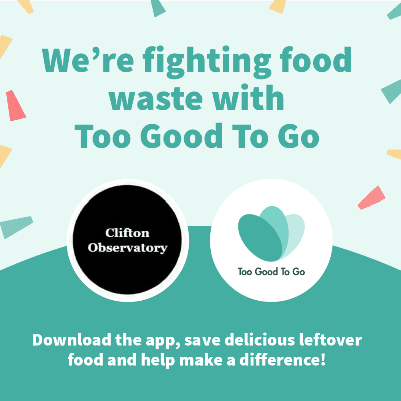 Clifton Observatory Fights Food Waste